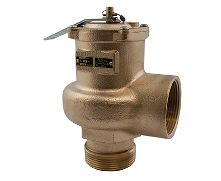 "Conbraco 14-205-08 High Volume Safety Relief Valve 2"" Male x Female ASME Section IV Steam"