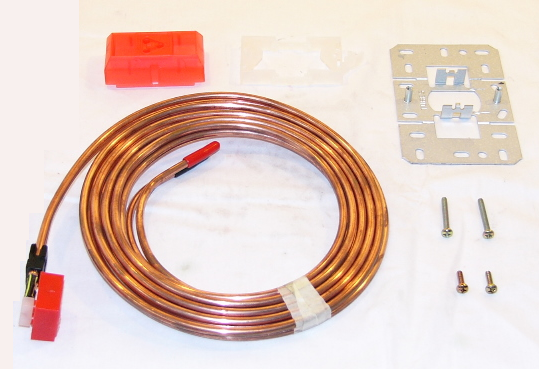 Honeywell 14001615-002 2-Pipe Plastic Tube Assembly with Fittings & Copper Leads