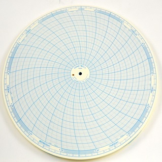 "Honeywell 30013080-000 Chart Paper Circular 1-Week 12"""
