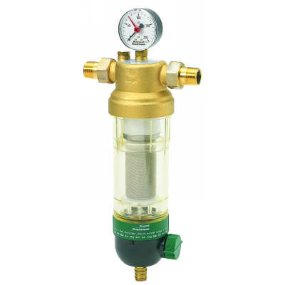 """Honeywell F76S1056 Water Filter 2"""" 100 Micron with Gauge"""
