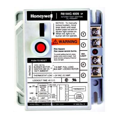 Honeywell R8184G4025 Protectorelay Oil Burner Control