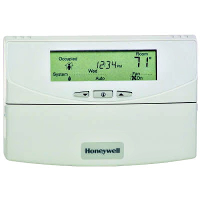Honeywell T7351F2010 Commercial Programmable Thermostat 24V 365-Day Display