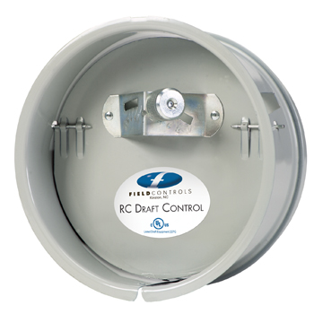 """Field Controls 01804401 Double Acting Barometric Draft Control 7"""" Adjustable 0.01"""" to 0.1"""" W.C."""