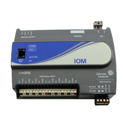 Johnson Controls MS-IOM2721-0 Input-Output Module 24V