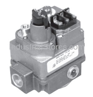 "White-Rodgers 36C01A-405 Gas Valve Standing Pilot 120V Relay-Operated No Line Interrupter 3/4"" x 3/4"""