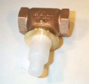 "Johnson Controls VG7241LT+423GGA Globe Valve Cast Bronze 2-Way Normally Open 3/4"" NPT 7.3Cv"