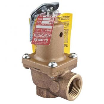 Watts 174A-3/4-125 Relief Valve 125 PSI