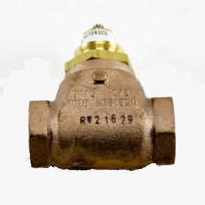 "Johnson Controls VG7241CS+8020G Globe Valve Cast Bronze 2-Way Normally Open 1/2"" NPT 0.73Cv"