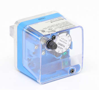 "Honeywell C6097A1053 Pressure Switch 1/4"" NPT Break on Fail Auto Recycle 3"" to 21"" W.C."