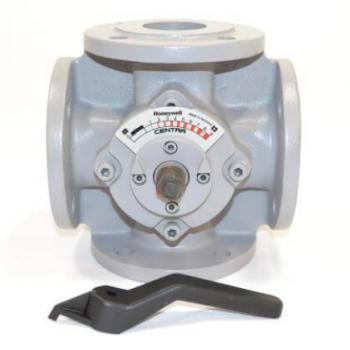 Honeywell ZR50FA Water Rotary Valve 4-Way Cast Iron 90-Degree