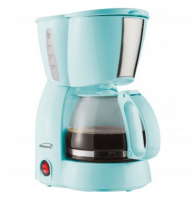 Brentwood Appliances TS-213BL 4-Cup Coffee Maker (Blue)