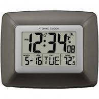 La Crosse Technology Ws-8008U Atomic Digital Wall Clock With Indoor Temperature